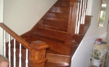 Staircase Solid Oak