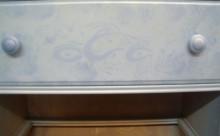 Airburshing Wood Drawers