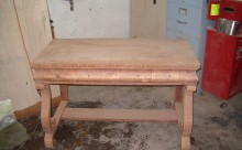 Wood Table Restoration - 6