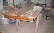 Wood Table Restoration - 4