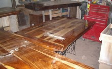 Wood Table Restoration - 5